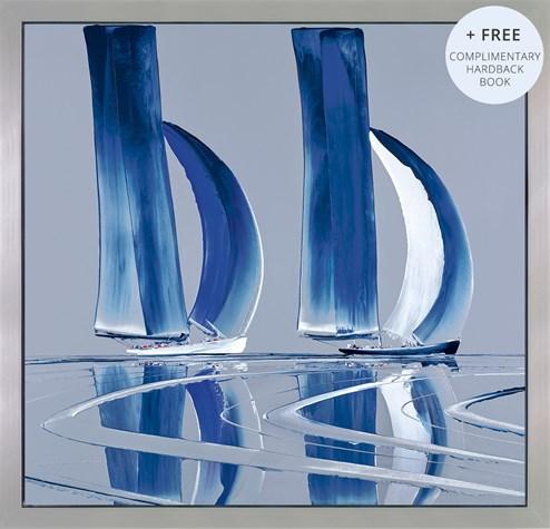 Ocean's Reach by Duncan MacGregor - Framed Glazed Box Canvas